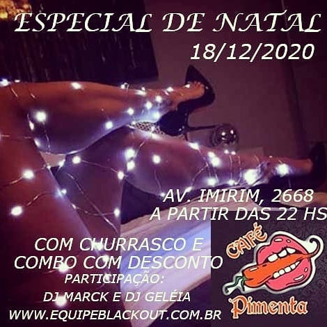 Especial de Natal – Sexy Private Party – Flyer DJ Festa – Imirim
